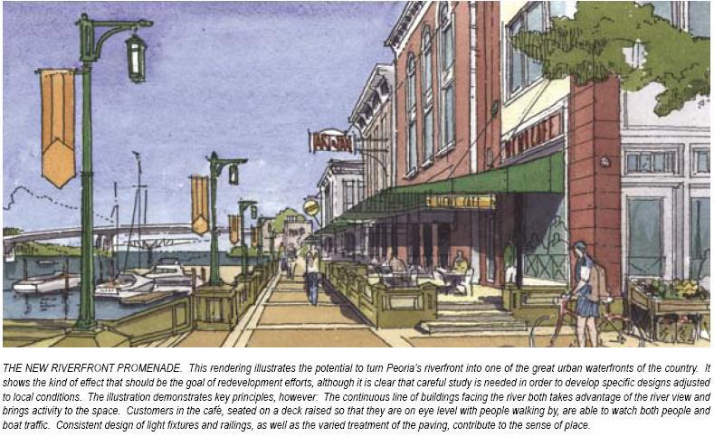 Heart of Peoria: Riverfront Promenade