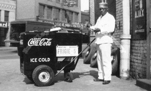 Coca-Cola Vending Cart